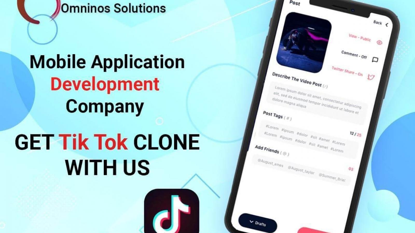 Affordable Tiktok App Clone Script & Source Code