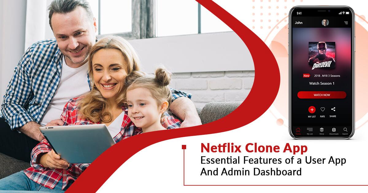 Netflix Live Video Streaming Clone App Development