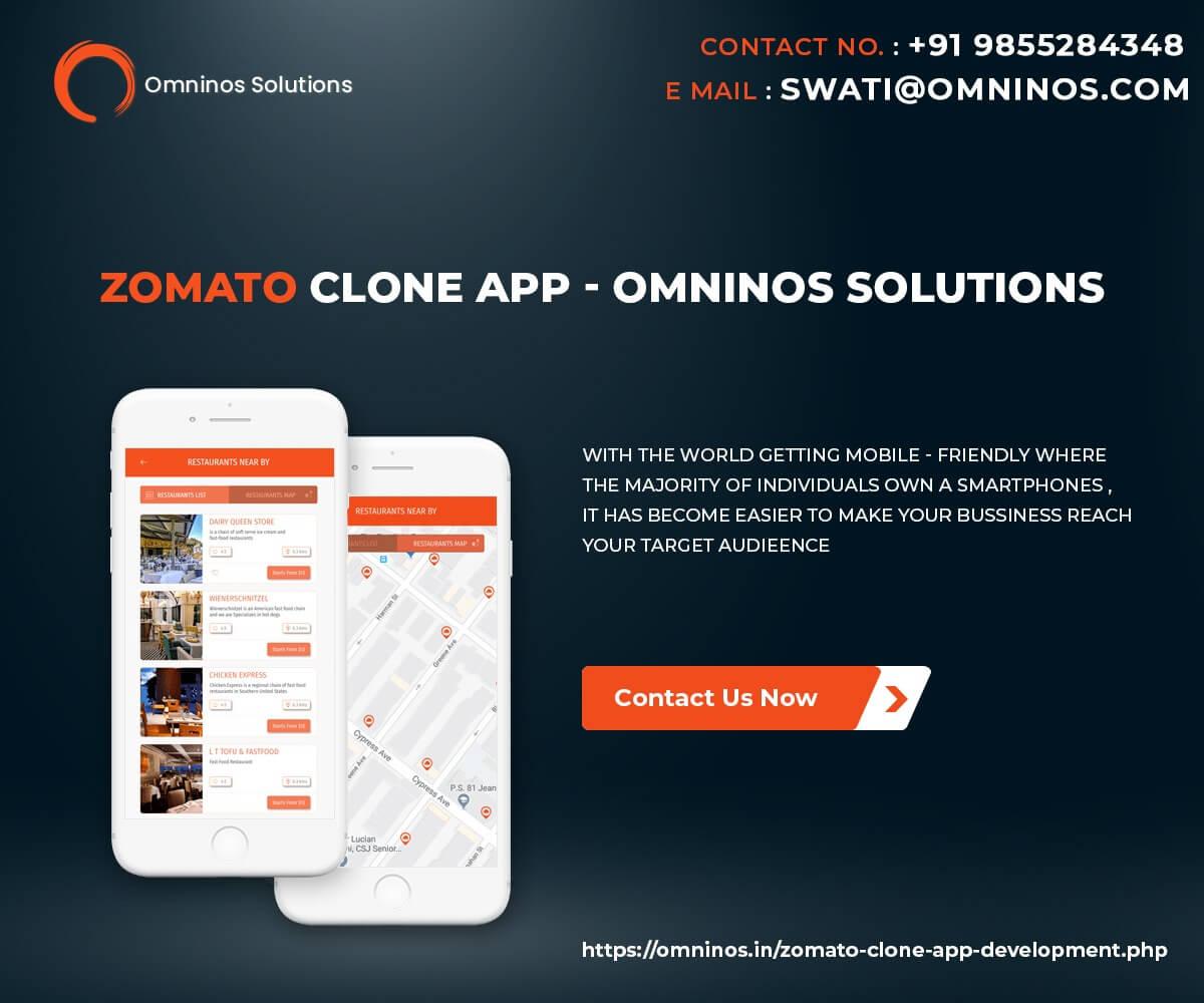 Most Remarkable Zomato Clone app