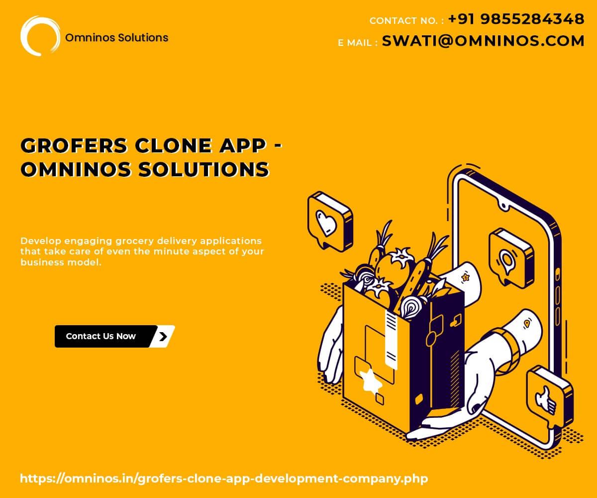How Grofers Clone App Works?
