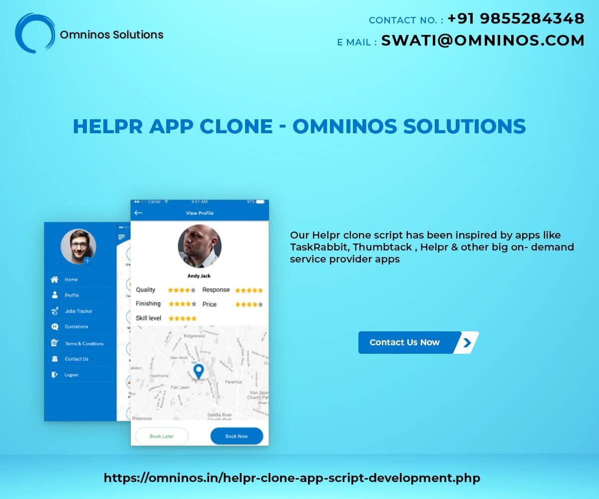 Helpr Home Services Clone App