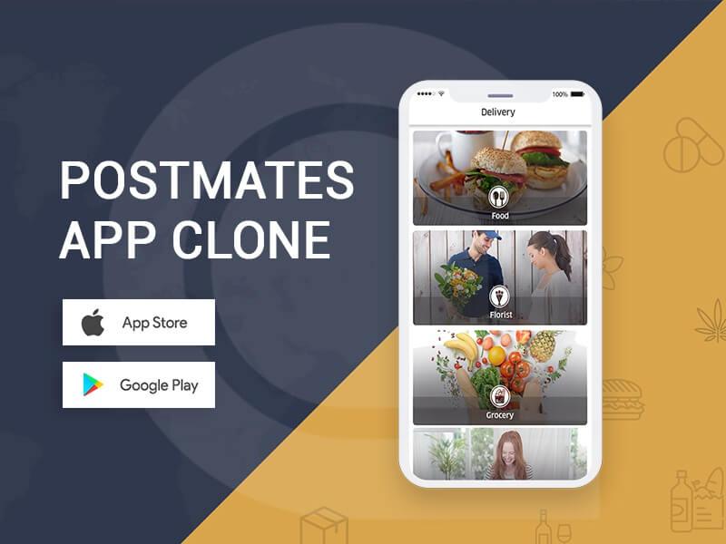 On-demand Postmates Clone App