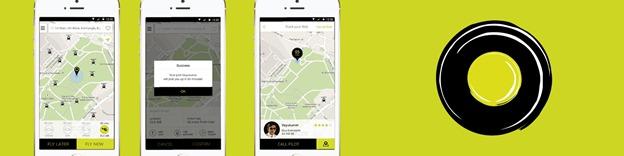 omninos solution ola like app development