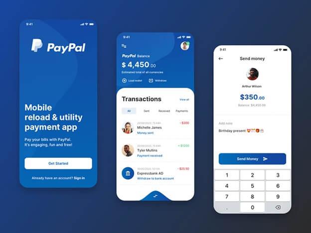 omninos solutuion paypal clone app development