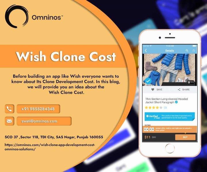 Wish Clone APP Development Cost