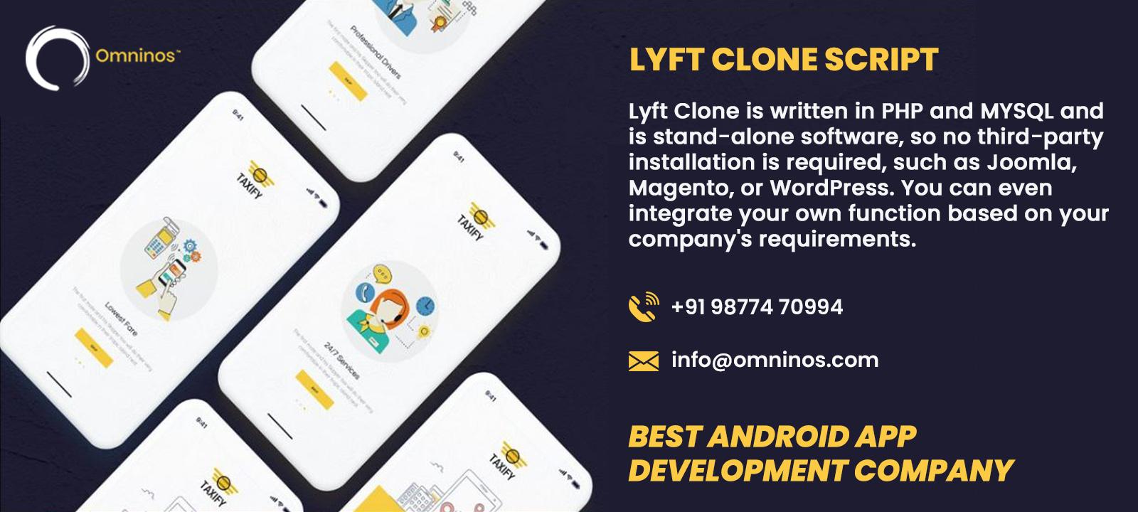 LYFT CLONE SCRIPT