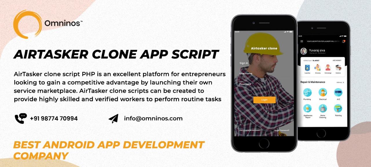 Omninos Solutions Airtasker Clone App Script