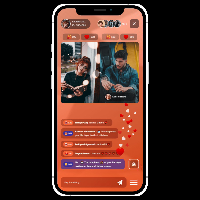 omninos solution liebe live clone app development