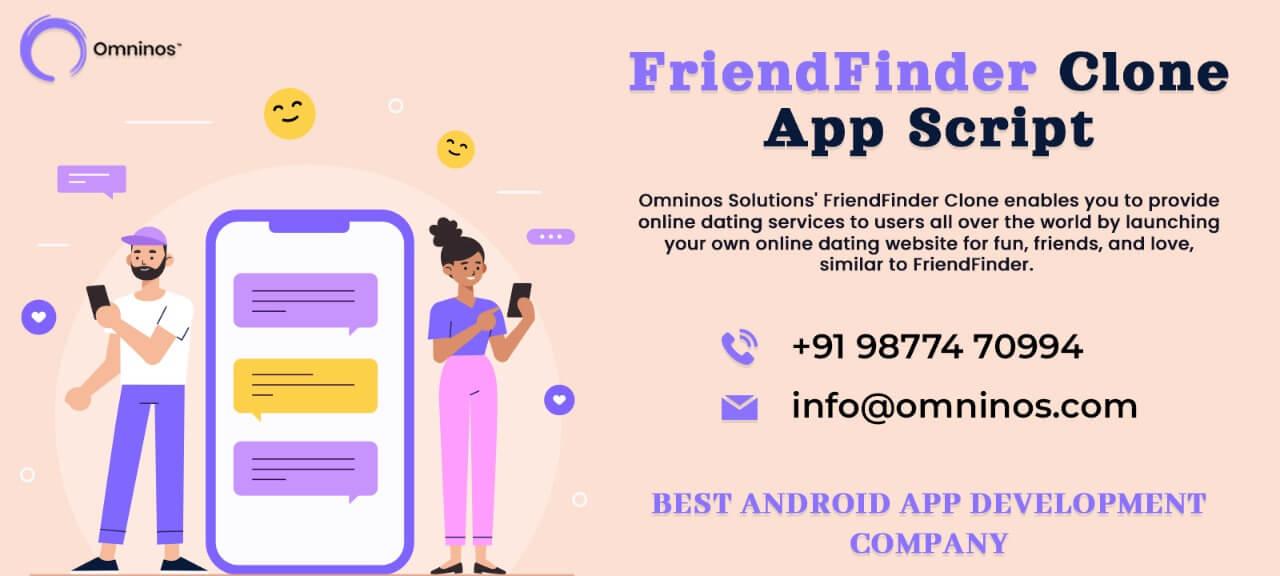 FriendFinder clone