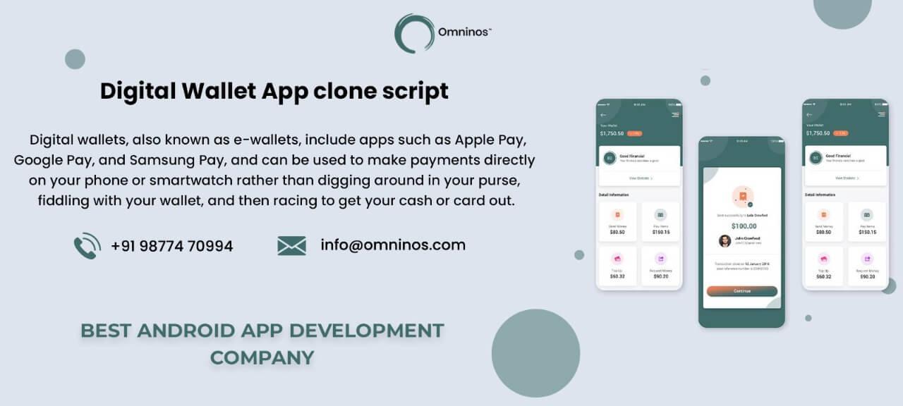 Omninos Solutions Digital Wallet App Clone Script