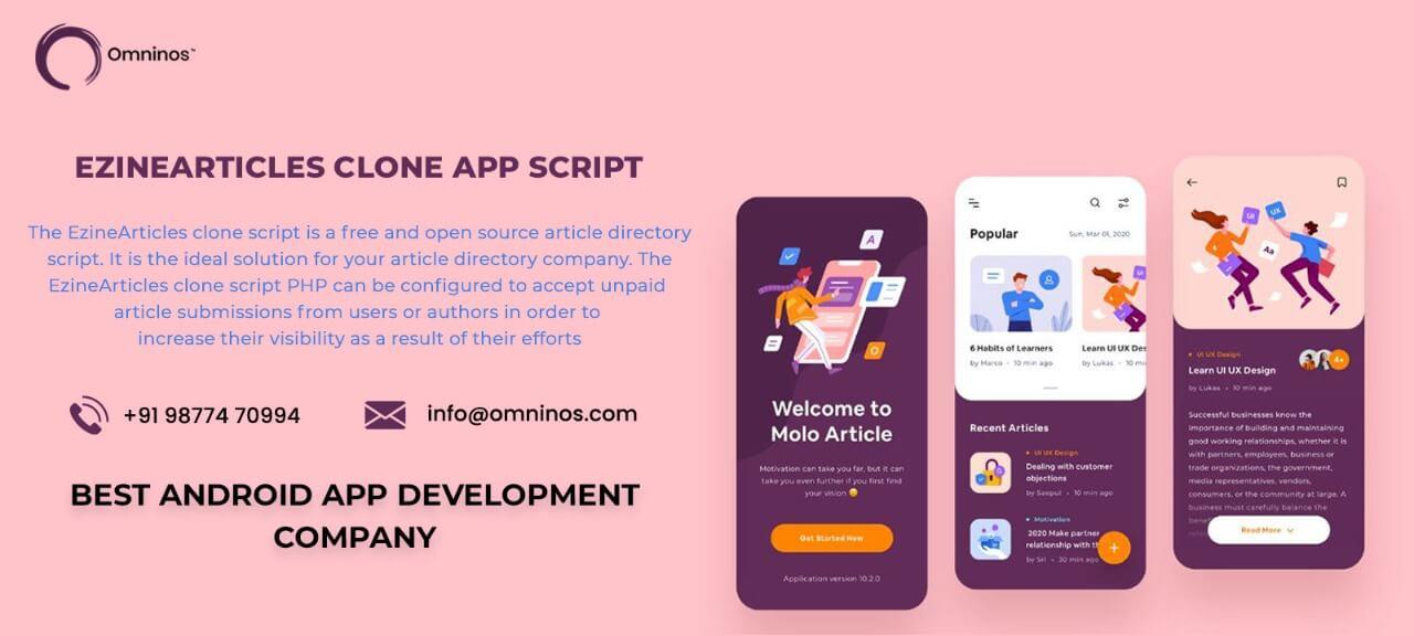 Omninos solutions EzineArticles Clone App Script