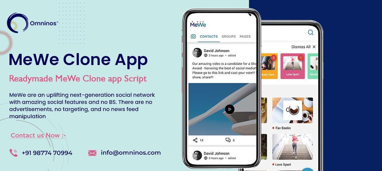 Omninos solutions MeWe clone app