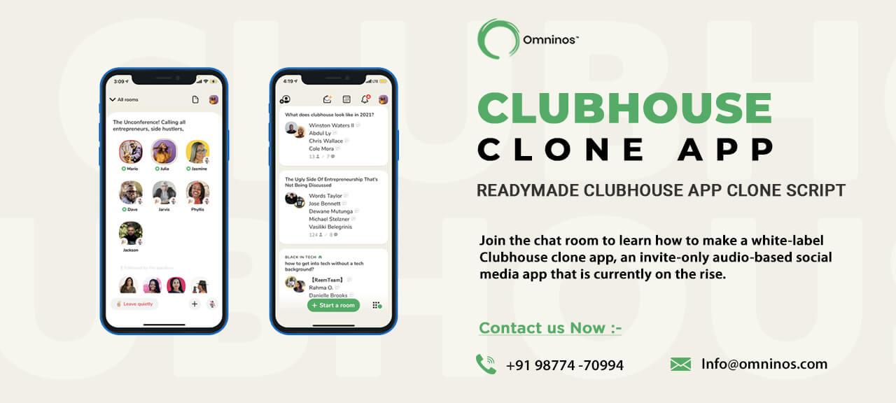 Omninos Solution club house App development