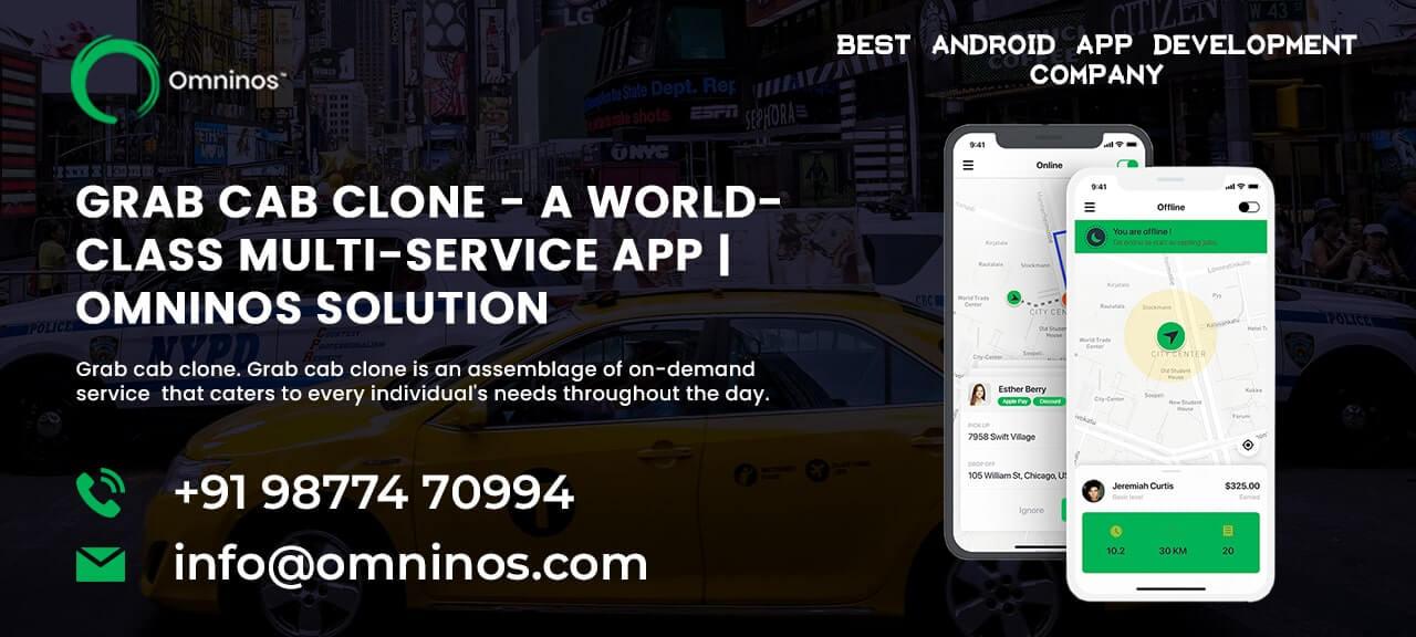 Omninos Solutions Grab clone App Development