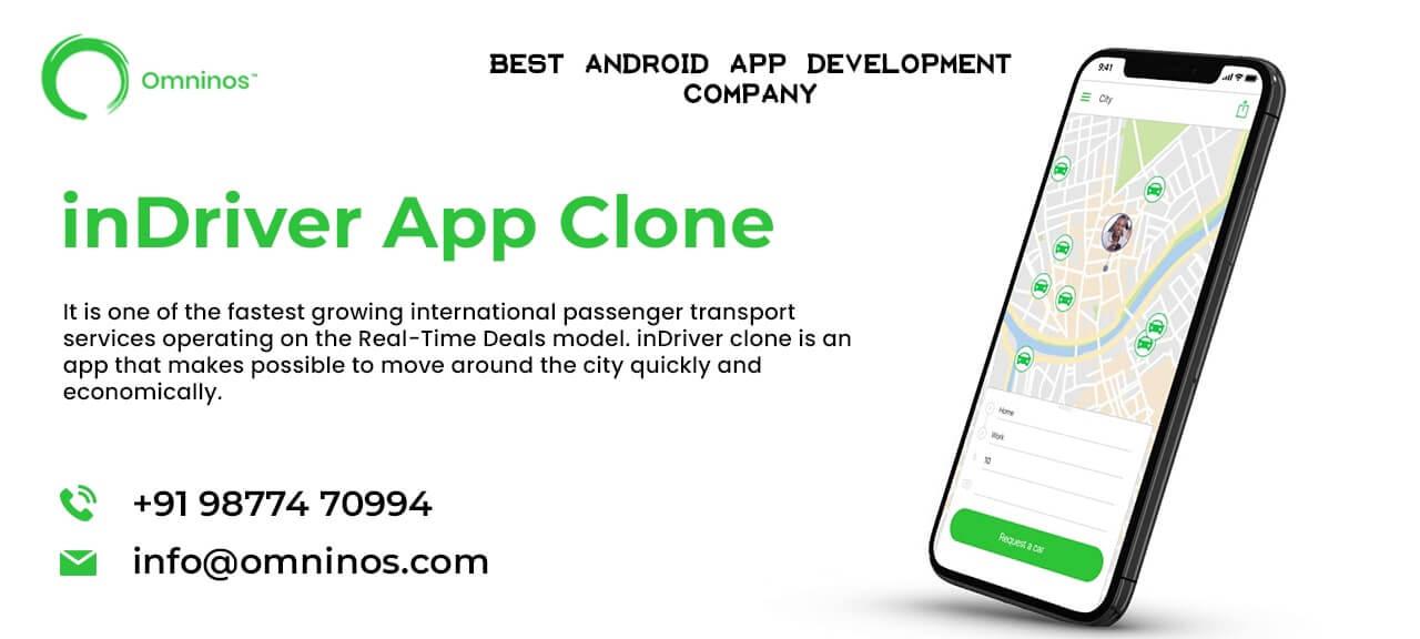 Omninos Solutions Indriver clone  App Development
