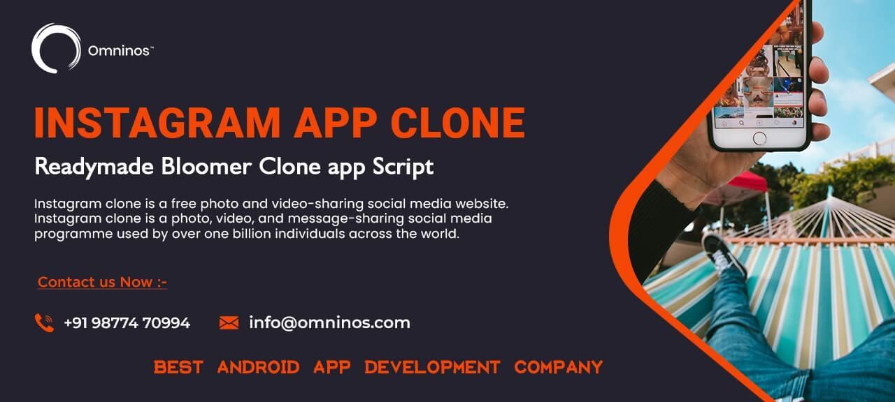 Omninos solutions instagram clone